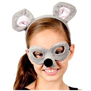 Mouse Animal Mask and Headband