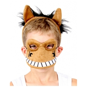 Horse Animal Mask and Headband