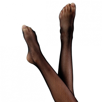 Footed Fishnets Tights title=