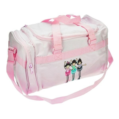 Gifted Dancer 138B Pink Fun Ballerina Holdall title=