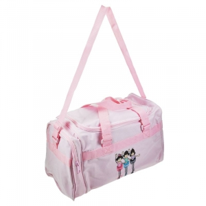 Gifted Dancer 138B Pink Fun Ballerina Holdall