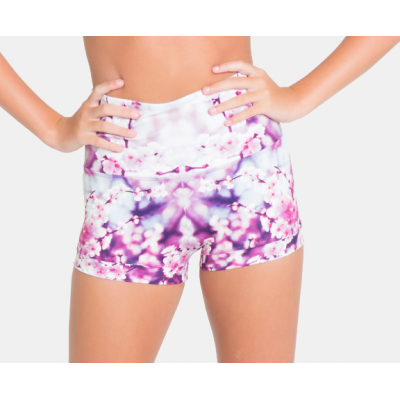 Blossom High Waisted Shorts title=
