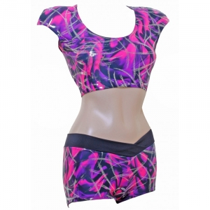POLE DYNAMIX Purple/Pink Silver Metall..