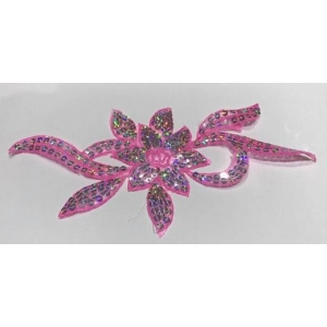 Sequin Flower Large 25x12cm