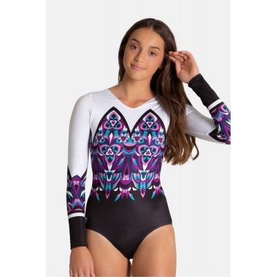 Cathedral Long Sleeved Leotard title=