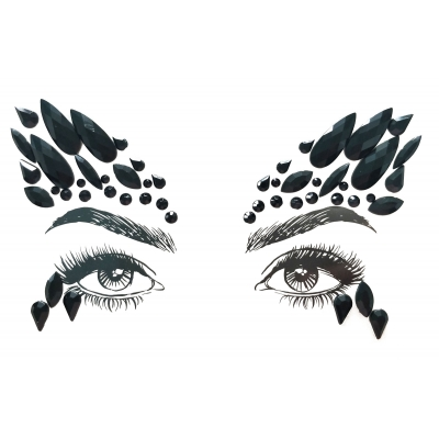 Face Jewels - Black Swan title=