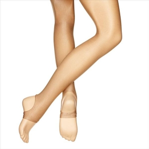 Silky Stirrup Shimmer Dance Tights