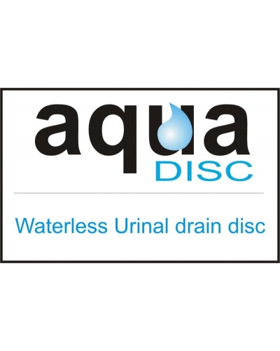AquaDisc waterless urinal trap cover