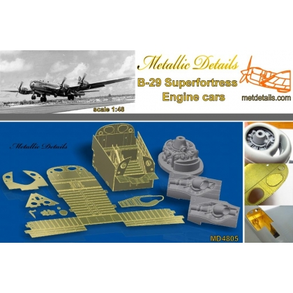 Detailing set for aircraft model B-29 1/48