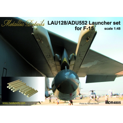 LAU-128/ADU-552 Launcher set for F-15 1/48