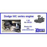 Dodge WC series engine 1/35