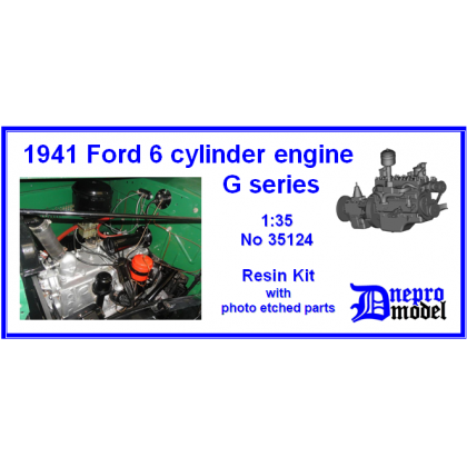 1941 Ford 6 cylinder engine G series 1/35