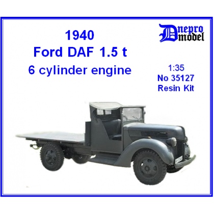 1940 Ford DAF 1.5 ton 6 cylinder engine 1/35