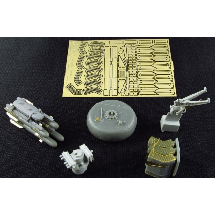 Detailing set for helicopter model AH-64 Apache LongBow 1/48