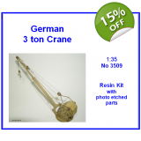 German 3 ton Crane 1/35