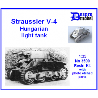 Straussler V-4 Hungarian light tank 1/35