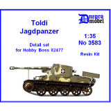 Toldi Jagdpanzer Detail set for Hobby ..