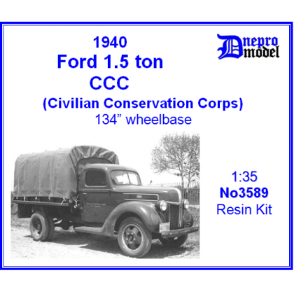 Ford 1.5 ton CCC Civilian Conservation Corps 1/35