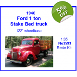 Ford 1.0 ton Stake Bed truck 1/35