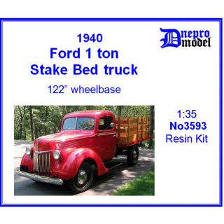 Ford 1.0 ton Stake Bed ..