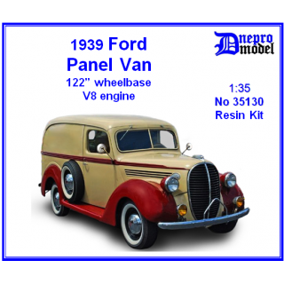 "1939 Ford Panel Van 122"" wheelbase V8 .."