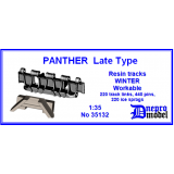 PANTHER Late Type Resin tracks WINTER ..