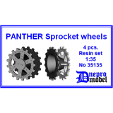 Panther Sprocket wheels 1/35