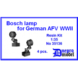 Bosch lamp for German AFV WWII 1/35