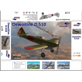 Dewoitine D.510 Spanish civil war 1/48