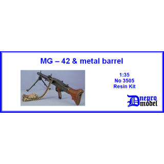 MG-42 & metal barrel 1/35