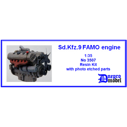 Sd.Kfz.9 FAMO engine 1/35
