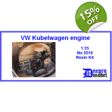 VW Kubelwagen engine 1/35