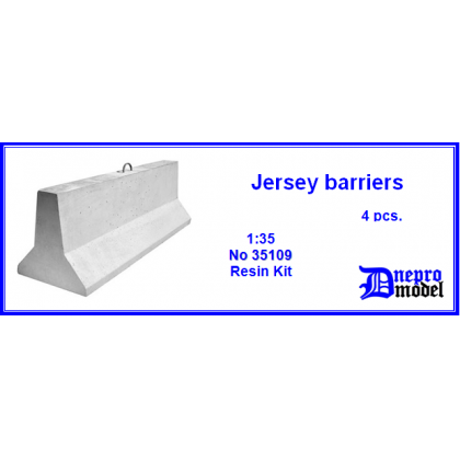 Jersey barriers 1/35
