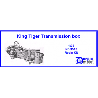 King Tiger transmissions box 1/35