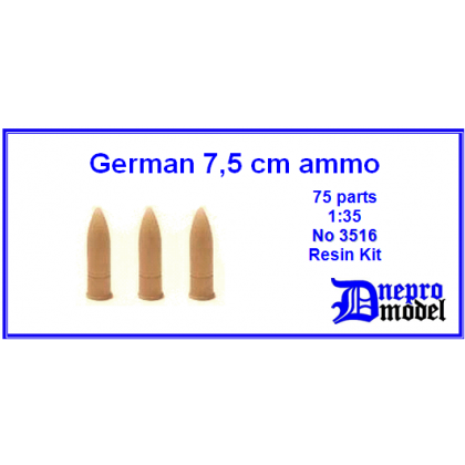 German 75mm ammo 1/35