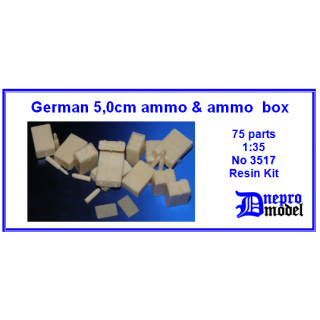German 50mm ammo & ammo..