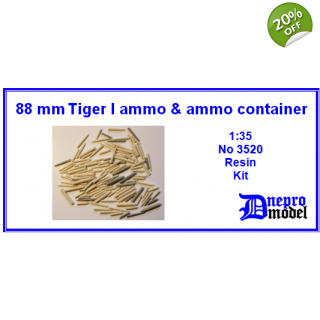 88mm Tiger I ammo & amm..