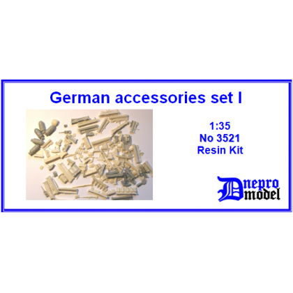 German Accessories set I 1/35