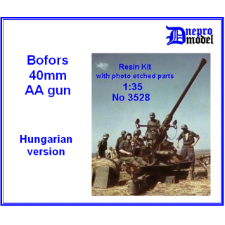 Bofors 40 mm AA gun Hungarian version ..