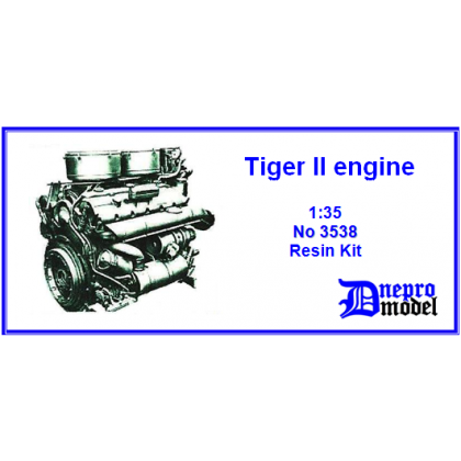 Tiger II engine 1/35