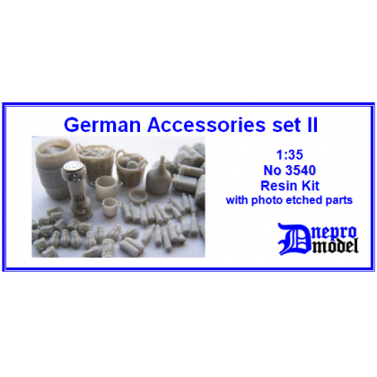 German Accessories set II 1/35