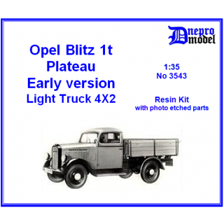 Opel Blitz 1t Plateau Early version 1/35