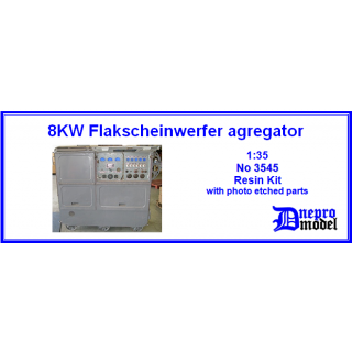 8KW Flakscheinwerfer agregator 1/35