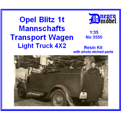 Opel Blitz 1t Mannschafts Transport Wagen 1/35