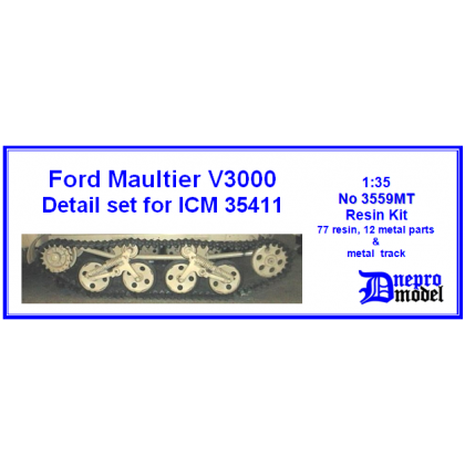 Ford Maultier V3000 Detail set for ICM 35411 MT 1/35