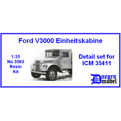 Ford V3000 Einheitskabine Detail set for ICM 35411 1/35