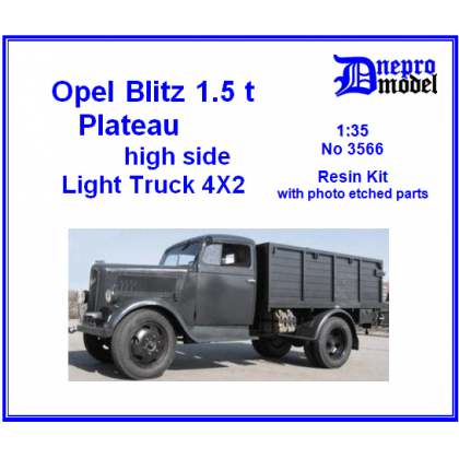 Opel Blitz 1,5t Plateau high side 1/35