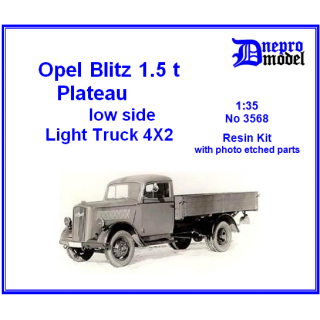 Opel Blitz 1,5t Plateau low side 1/35