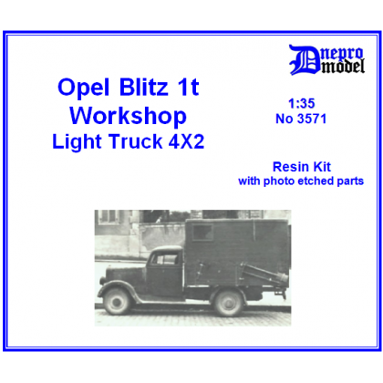 Opel Blitz 1t Workshop 1/35