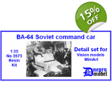 BA-64 Soviet command car Detail set fo..